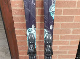 Atomic Cloud 7 carving skis including Atomic XTL9 binding 149cm