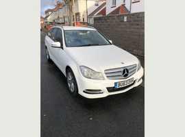 Mercedes C CLASS, 2013 (63) White Estate, Manual Diesel, 87,000 miles
