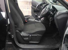 Nissan Qashqai, 2010 (59) Black Hatchback, Manual Diesel, 132,837 miles