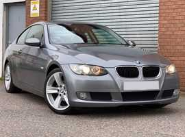 BMW 3 Series 2.0 320i SE Coupe, Metallic Grey, Part Exchange to Clear, Low Miles, Full Leather