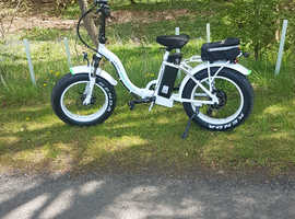 Wanted electric bike as my legs are sore