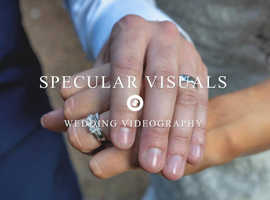 Wedding videography.  Stunning wedding and photography services