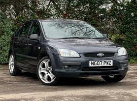 Ford Focus 1.6 SPORT, 2007 (07) Grey Hatchback, Manual Petrol, 85,650 miles, LONG MOT