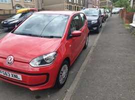 Volkswagen Up, 2013 (63) Red Hatchback, Manual Petrol, 62,000 miles