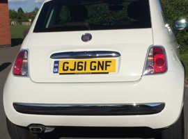 Fiat 500, 2011 (61) White Hatchback, Semi auto Petrol, 45,750 miles