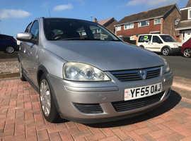 Vauxhall Corsa, 2005 (55) Silver Hatchback, Manual Petrol, 71,000 miles