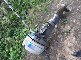 2 petrol boat outboard engines