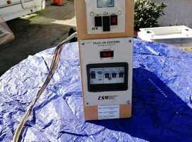 Electrical Control and Battery  module for Abbey Aventura Caravan