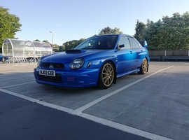 Subaru Impreza, 2002 (02) Blue Saloon, Manual Petrol, 79,020 miles