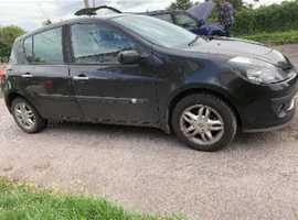 Renault Clio, 2006 (06) Black Hatchback, Manual Diesel, 12,800 miles