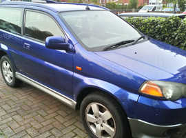 Honda HR-V, 1999 (T) Blue Hatchback, Manual Petrol, 129,424 miles