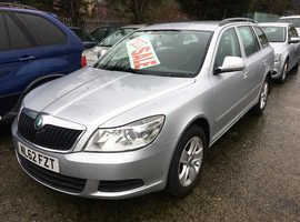 Skoda Octavia, 2013 (62) Silver Estate, Manual Diesel, 130,000 miles