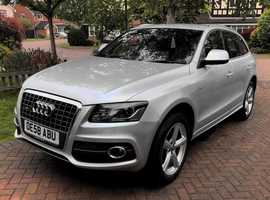 Audi Q5, 2009 (58) Silver Estate, Manual Diesel, 126,000 miles