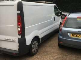 Vauxhall vivaro lwb