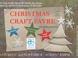 Flaxlands Charity Christmas Craft Fayre