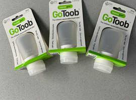 Set of Three Goo Toob Bottles