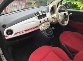 Fiat 500, 2008 (58) White Hatchback, Manual Petrol, 109,900 miles