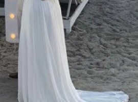 Beautiful size 12 Summer wedding dress