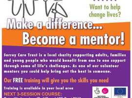 Make a difference... become a mentor!