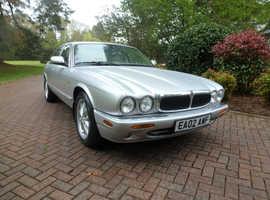 Jaguar V8 XJ SRS, 2002 (02) Silver Saloon, Automatic Petrol, 44,170 miles