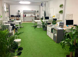Desk space available in creative and quirky start up office in Hackney Wick