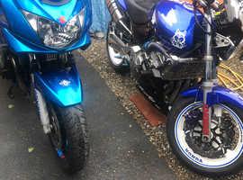 Honda hornet street fighter 600