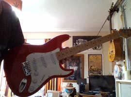 Electric guitar/wawa pedal/digitech guitar prossesor