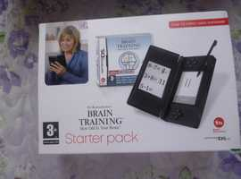 NINTENDO DS LITE BRAIN TRAINING STARTER PACK BUNDLE