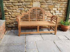 Luxury teak bench free delivery