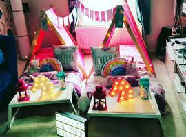 Childrens Sleepover Tepee Parties