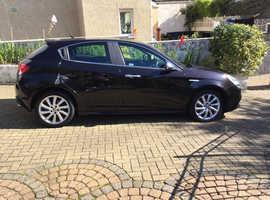 Alfa Romeo Giulietta, 2012 (12) Black Hatchback, Semi auto Diesel, 63,300 miles
