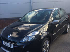 Renault Clio, 2012 (12) Black Hatchback, Manual Petrol, 40,000 miles