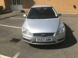 Ford Focus, 2007 (57) Silver Hatchback, Manual Diesel, 161,000 miles