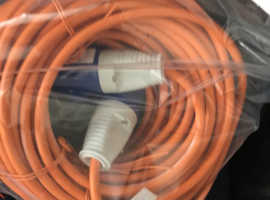 Caravan hook up mains wire