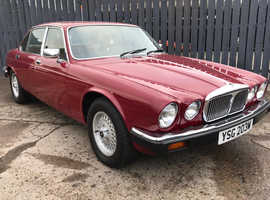 1980 DAIMLER DOUBLE SIX V12 ONLY 46000 MILES FROM NEW SUPERB ORDER THROUGHOUT LOTS OF WORK CARRIED OUT VERY FEW OWNERS 12 MONTH MOT INCLUDED