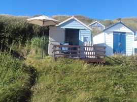 Beach Hut for Sale in Hordle Cliff