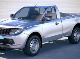 Toyota Hilux/Mitsubishi L200 single cab