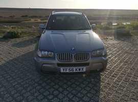 BMW X3, 2006 (56) grey estate, Automatic Diesel, 183,000 miles