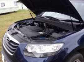 Hyundai Santa Fe, 2010 (60) Blue Estate, Automatic Diesel, 113,000 miles