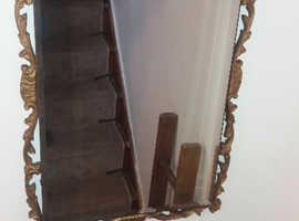 Antique Reflectwell Bevelled mirror
