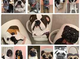 Custom Pet Portraits & Critter Figurines