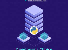 Developer's  choice Python Web Hosting.