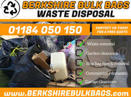 WASTE DISPOSAL - SKIP BAGS - RUBBISH CLEARANCE - GARDEN CLEARANCE
