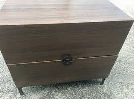 Two drawer cabinet.