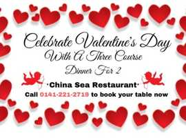 Share The Love - Say It With Dinner On Valentine's Day