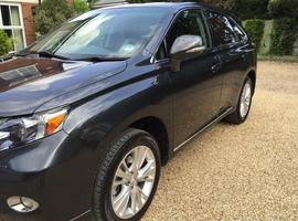 Lexus Rx, 2011 (60) Grey Estate, Cvt , 56,000 miles