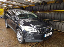 Volvo Xc60, 2013 (13) Black Estate, Manual Diesel, 102,052 miles