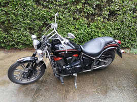 Vn900 custom special edition low miles full mot