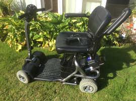 Aluminium 2015 travel mobility scooter
