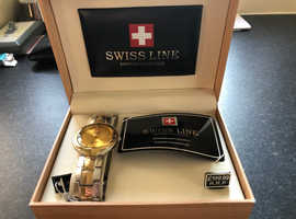 Brand new swissline, sapphire collection watches. All 50% off the rrp price marked